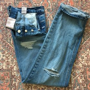 Revice High Waisted Mom Jeans